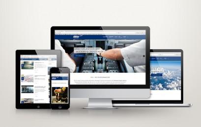 Take-off der neuen Webseite