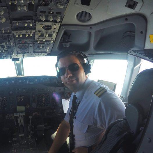Der Weg ins Cockpit